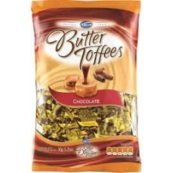 CARAMELOS BUTTER TOFFEES CHOCOLATE X150 G