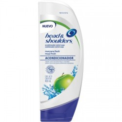 ACONDICIONADOR HEAD&SHOULDERS X400ML MANZANA FRESH