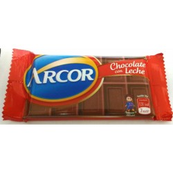 CHOCOLATE ARCOR LECHE X 25G.