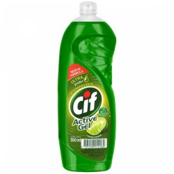 DETERGENTE CIF ACTIVE GEL X300ML LIMON VERDE