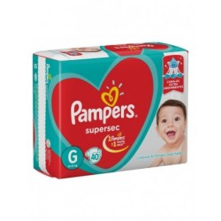 PAMPERS SUPER SEC G 54 UNIDADES